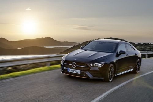 New Mercedes CLA Coupe shown off on video