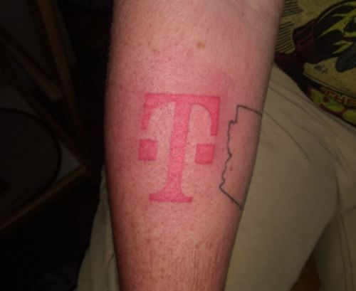 Man Gives Himself T-Mobile Logo Tattoo For A Free iPhone 8