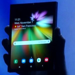 Samsung's foldable Infinity Flex display is a design marvel, ready to go into bendable phones