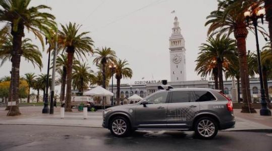 Uber self-driving car crash video shows driver looking down before fatal impact