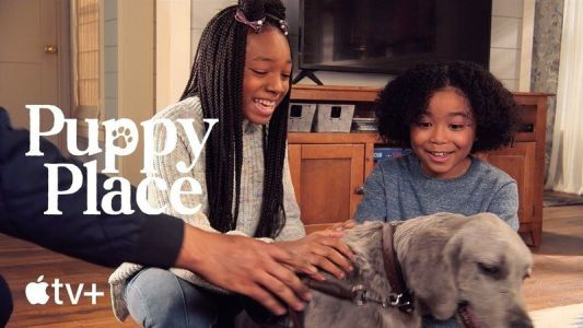 Get a first look at Apple's new children's series 'Puppy Place'