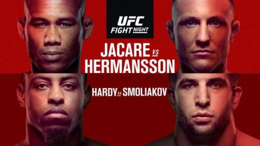 Stream Jacare-Hermansson on UFC Fight Night on April 27 in the U.S