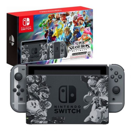 Pre-order the new Nintendo Switch Super Smash Bros Ultimate Edition Console