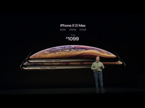 The iPhone XS Max as an Object