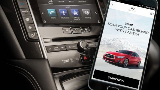 INFINITI's AR app turns your phone into your own car manual