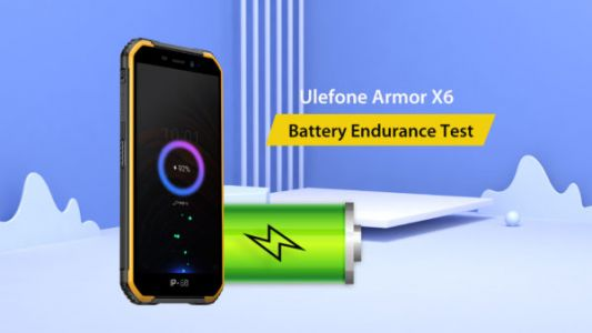 Ulefone Armor X6 Shines In Battery Endurance Test: Video