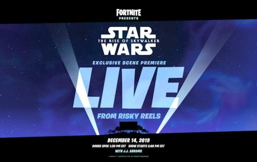 Fortnite to premiere Star Wars scene