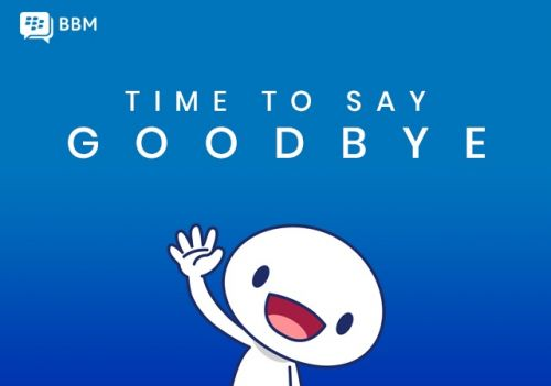 BlackBerry Messenger Shutting Down at the End of May