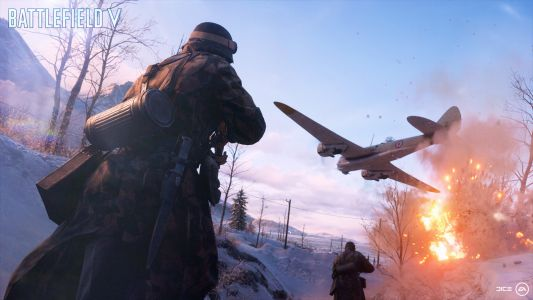 The latest Battlefield V trailer may have given us a glimpse of battle royale mode