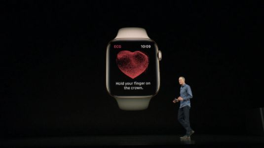 Touch-based blood pressure readings via iPhone and Apple Watch might one day be a thing