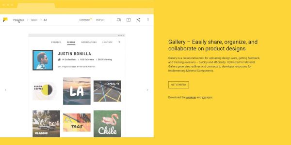 Google launches 'Material Gallery' on Android, iOS, web as a collaborative tool for designers