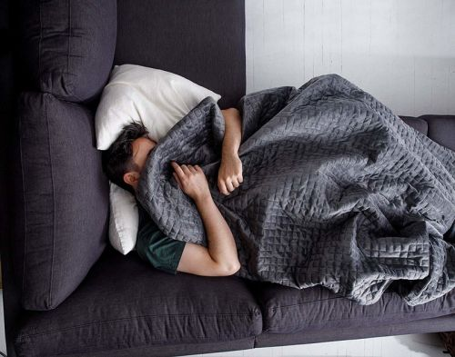 Does the Gravity Blanket actually help you sleep?