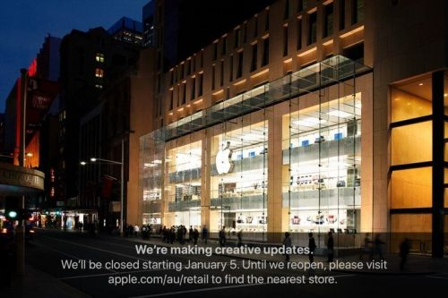 Apple Sydney to close for refurbishment January 5