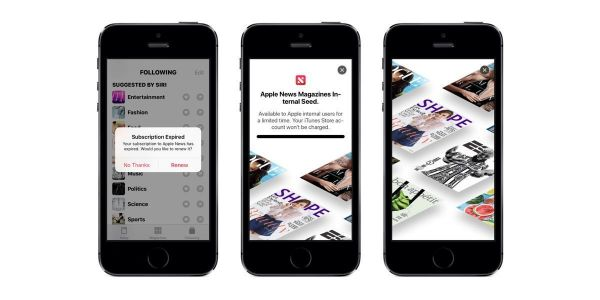 Wall Street Journal Expected To Be Part Of Apple's News Subscription Service