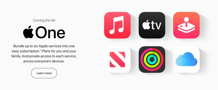 Apple One services bundle launches tomorrow