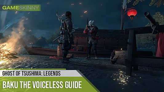 Ghost of Tsushima Baku the Voiceless Location & Items Guide