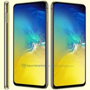 Samsung Galaxy S10e coming after the iPhone XR with an eye-burning yellow color!