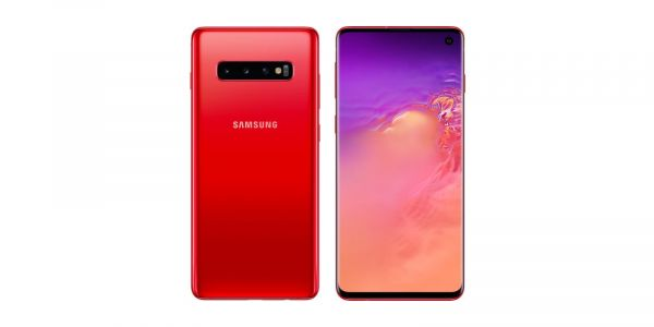 Leaked Galaxy S10 renders show upcoming Cardinal Red color variant