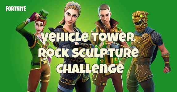 Fortnite: Where to Search Between Vehicle Towers