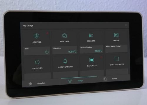 DIY Touchscreen Raspberry Pi smart home control panel