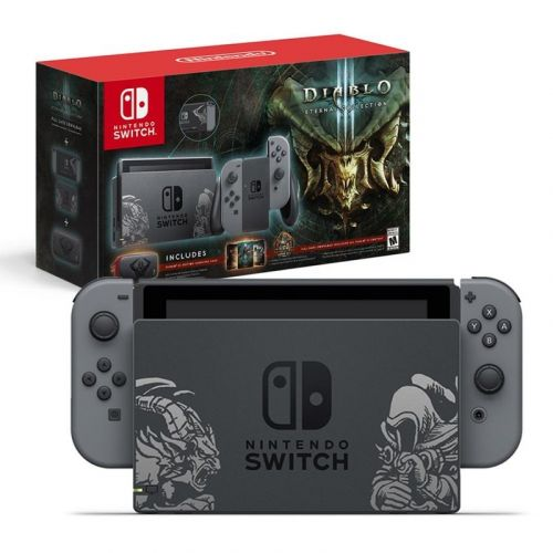 Dungeon through the Diablo 3 limited edition Nintendo Switch bundle