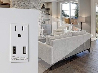 Skip wall adapters and charge directly with 20% off Topgreener outlets