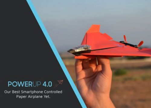 POWERUP 4.0 smartphone controlled plane $99