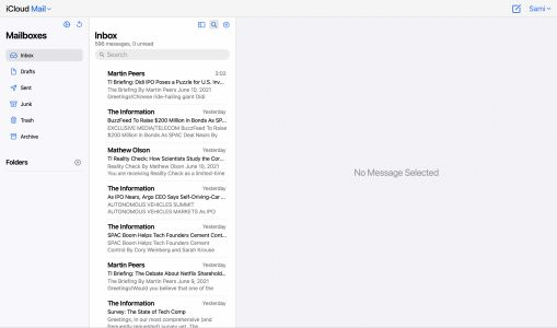 Apple Working on Redesigned iCloud Mail for Web