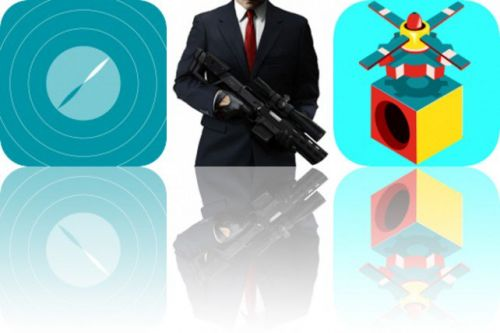 Today's Apps Gone Free: MedBeep, Hitman Sniper and Blox 3D