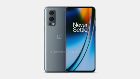 The OnePlus Nord 2 appears to be using the same design as the OnePlus 9