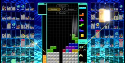 Tetris 99 takes the puzzle game classic to the battle royale realm
