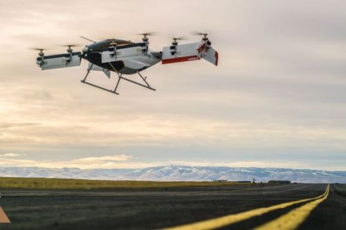 Airbus completes first test of its autonomous air taxi Vahana