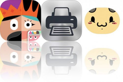Today's Apps Gone Free: Thinkrolls: Kings & Queens, Printer Pro and Boba Bee