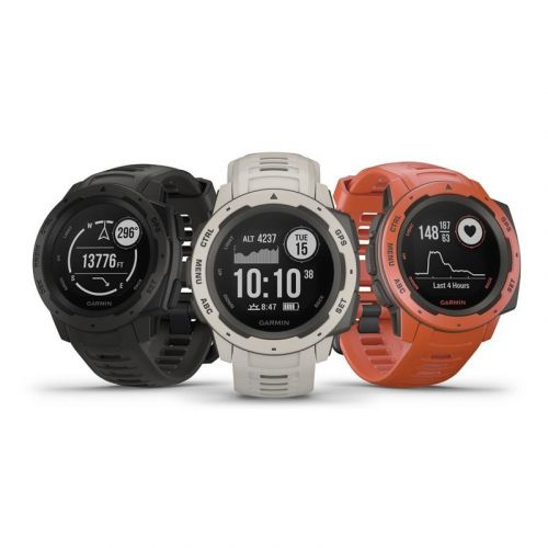 Find your way with Garmin's new Instinct GPS smartwatch