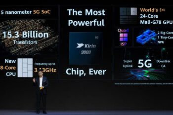 Huawei Kirin 9000 announced: first 5G 5nm chip with a CPU and GPU that may put it at a disadvantage