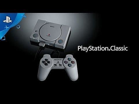PlayStation Classic Announced, a Mini Throwback Packing 20 Games