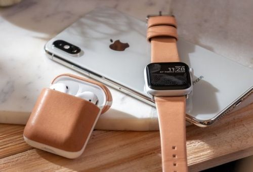 Nomad Launches New Natural Leather Accessories For The Apple Watch, AirPods