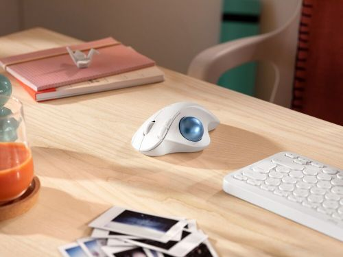 Logitech Launches New Ergonomic Mouse With Built-In Trackball