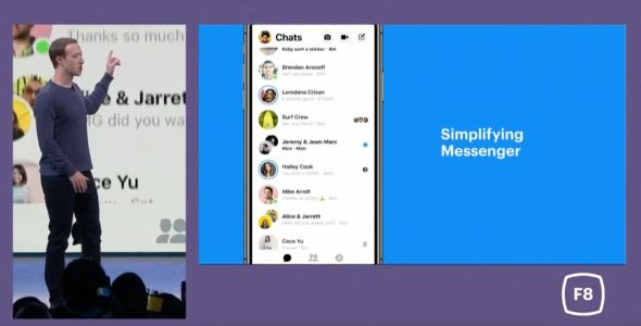 Updated Facebook Messenger app with redesign rolling out to most users
