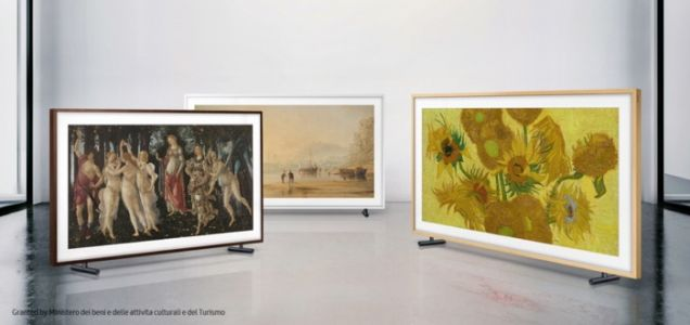 Samsung Frame TV gets some new artwork