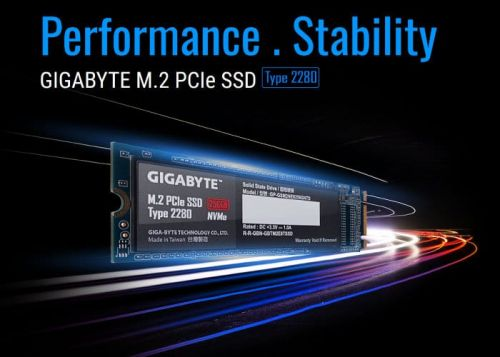 Gigabyte NVMe M.2 SSDs now available from $50