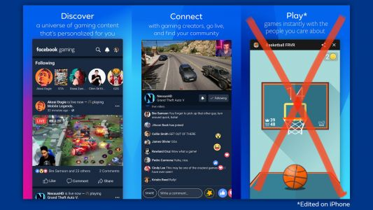 Facebook's 'Facebook Gaming' App Has Finally Launched on iOS without Games due to App Store Policies