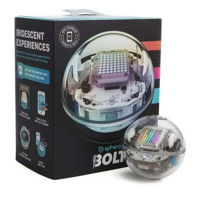 The Sphero Bolt is a new robotic ball with programmable lights