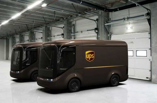 UPS to Roll Out Adorable Modular EVs for Deliveries in Europe