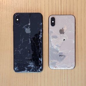 Apple's iPhone XS and XS Max might be beer-resistant, but they're definitely not shatterproof