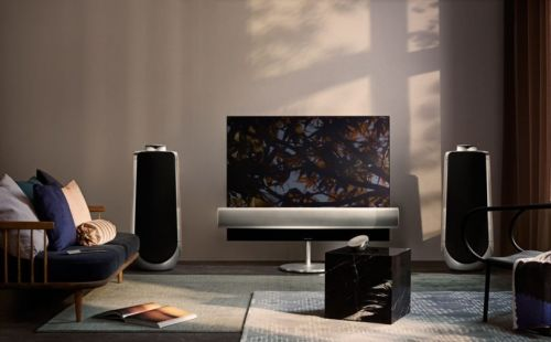 """LG Offers Motorized """"Eclipse"""" OLED TV with Bang & Olufsen Sound"""