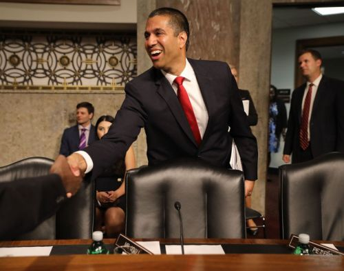 Ajit Pai says net neutrality was the top threat to broadband deployment