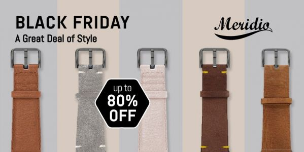 Meridio's Italian-made leather and environmentally-conscious Apple Watch bands now 50% off