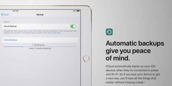 PSA: iPad owners cannot restore iCloud backups from iPhones running iOS 12.1.2