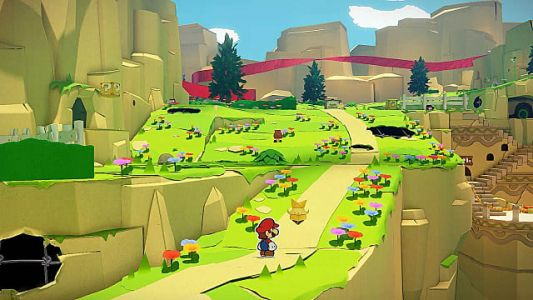 Nintendo Treehouse Live Shows Paper Mario: The Origami King